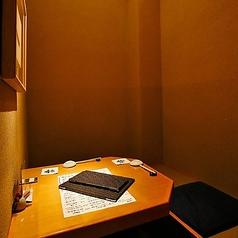 大人デート・記念日使いに最適な2名個室!