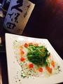 料理メニュー写真水タコのカルパッチョ