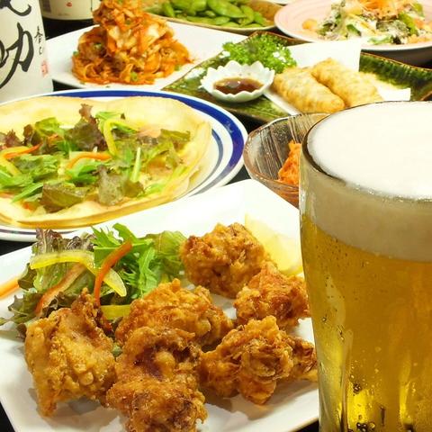 【当店人気NO,1】食べ放題飲み放題2時間 税込2,980円!