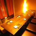 堀りごたつ和モダン個室♪12名様までの個室もございます。