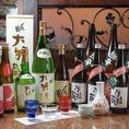 【新潟名物を堪能】新潟といえば日本酒。常時15種類以上をご用意しております。