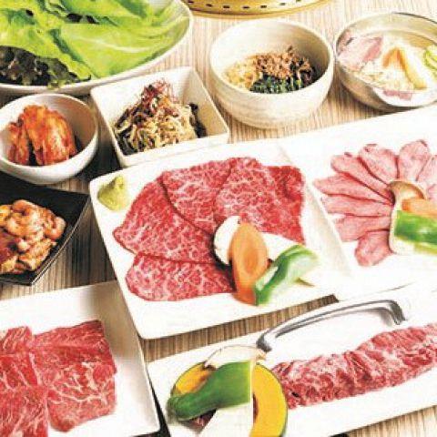 【おもてなしVIPコース】サーロインステーキ,厚切り特上タン,あわび付等お料理12品付7500円