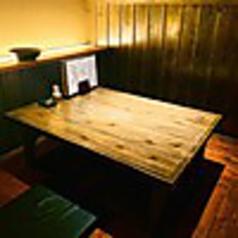【完全個室】全席掘りごたつ個室となっております。お部屋を繋げて大型宴会も可能となっておりますので、人数などお気軽にご相談ください。