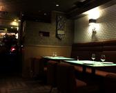 メインダイニングでは2名様から10名様までのお食事が可能です。世界のワインと名物ステーキや海老料理をカジュアルで落ち着きのある雰囲気でお楽しみいただけます。【お席】(2名様着席×1テーブル)(4名様着席×5テーブル)(繋げ合せ時最大10名様)