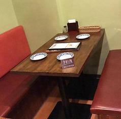 2名様用のお席もありますので、デートに最適◎特別な時間をお過ごしください♪