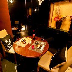 大宮デートに最適なテーブル席,,