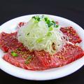 料理メニュー写真国産牛元氣カルビ (タレ・塩・にんにく)
