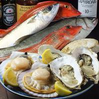 ◆魚介類を使ったメニュー◆