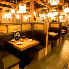少人数から大歓迎★プライベートな飲み会やお食事にぴったりのお席ございます!
