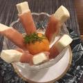料理メニュー写真生ハムのクリームチーズ巻き