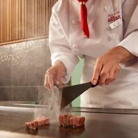 ≪神戸ビーフ≫素材を活かす鉄板焼の真髄♪