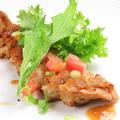 料理メニュー写真鶏もものソテー 柚子醤油ソース