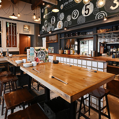 炊き餃子とベジとんぐるぐる ここのつ食堂 東岡崎店の雰囲気1