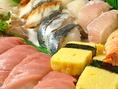 職人の握る贅沢なお寿司もおすすめです!!