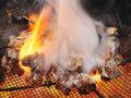 料理メニュー写真さつま知覧どり 炭火黒焼き