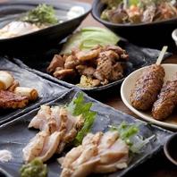 ★絶品★ 鶏刺し・焼き鳥・チキン南蛮