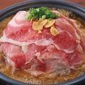料理メニュー写真牛肉のピリ辛陶板鍋