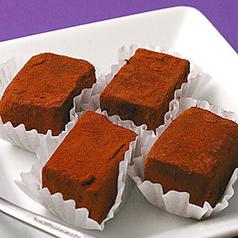 料理メニュー写真コラーゲン入り 手づくり 生チョコ