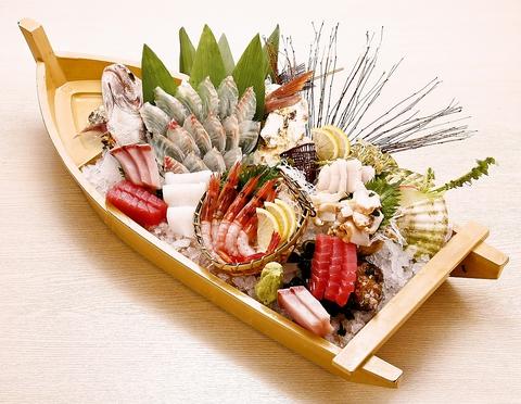 漁港直送!新鮮な旬の魚を食べられるお店!!