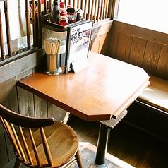 2名様テーブルは1卓ございます♪