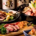 新鮮食材を使った絶品地鶏料理に舌鼓!飲み放題付き宴会コースは3,500円~!