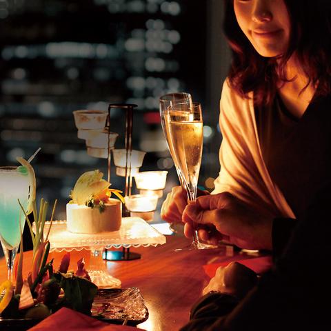 sky dining & bar BLUE BIRD ブルーバード ミナミ 難波 店舗イメージ6