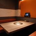 全席タッチパネルを導入しておりますので、ご注文も安心して行っていただきます。完全個室でプライベート空間をお楽しみください。