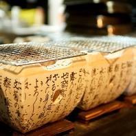 石川県産地鶏の炭火焼き串なし焼き鳥&石川海鮮七輪焼!