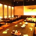 歓迎会・送別会など、会社イベントにぴったりの個室です。