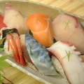 料理メニュー写真大ネタ寿司盛り合せ