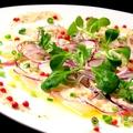 料理メニュー写真鯛カルパッチョ