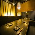 【半個室】7~8名様用の個室は飲み会に最適です★