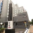 ルートインホテルの1階に入口があります。