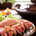 料理メニュー写真【薩摩知覧鶏のたたき食べ比べ】