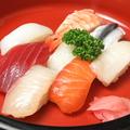 料理メニュー写真にぎり寿司 並