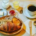 料理メニュー写真【朝のセット】パリの朝食