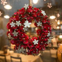 季節ごとのかわいい装飾にも注目。