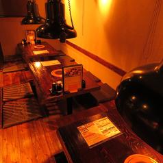 【掘り炬燵個室】2名~12名様用の掘りごたつ個室あり。