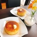 料理メニュー写真ミニ・パンケーキ(季節のフルーツ添え)