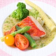 金目鯛塩焼きブールブラン