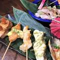 料理メニュー写真名物!!魚串(うおくし)