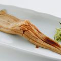 料理メニュー写真白身三点盛り/一本あなご/活みる貝/活つぶ貝