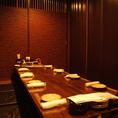 ご宴会には最大10名の掘りごたつ個室