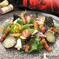 料理メニュー写真身体が喜ぶ 彩り有機野菜のサラダ