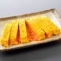 料理メニュー写真だし巻き玉子焼き 明太チーズ