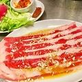 料理メニュー写真7.牛サムギョプサル(160g)