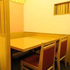 テーブルでも個室利用ができます★