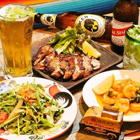 吉祥寺のワールドキッチン☆世界の美味しい料理とおしゃれな空間でおくつろぎ下さい♪