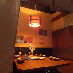 【個室】仲間とのちょっとした宴会やご家族でのお食事会には個室もございます!人気席なのでご予約をお願い致します!