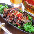料理メニュー写真国産牛の牛タン黒胡椒焼き